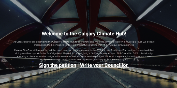 Help Calgary Climate Hub, while they help Bike Calgary