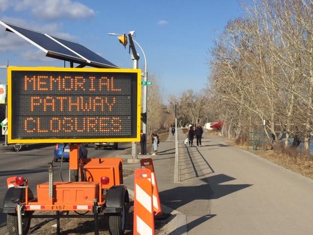Memorial detour 1