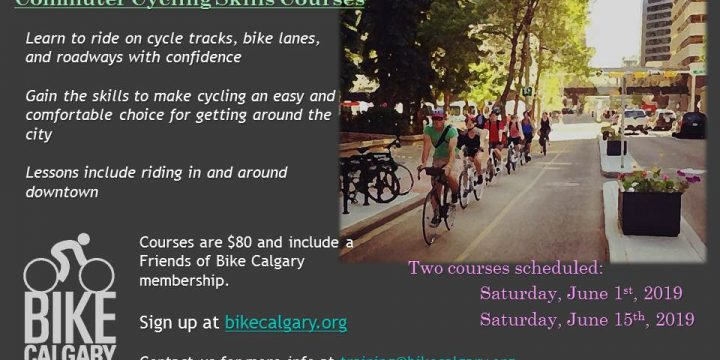 Commuter Cycling Skills courses scheduled for June!!!