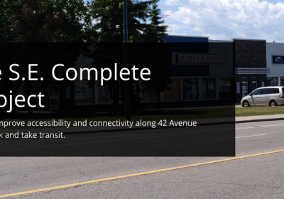 Show Your Support For the 42 Avenue SE Complete Streets Project