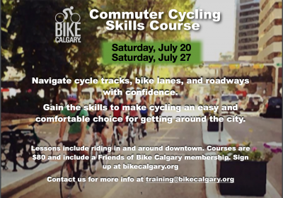 Tell a friend about the Commuter Cycling Skills course!