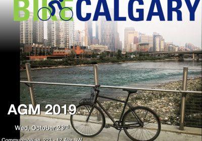 Bike Calgary AGM on Oct. 23 & Board Vacancies