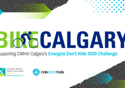 Bike Calgary's Partnership with Energize Don't Hide 2020 Challenge