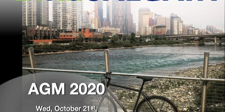 Bike Calgary AGM – Oct. 21, 2020, 7pm