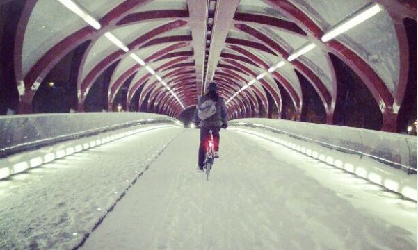 Winter Riding? In Calgary………..really? Well yes, you totally can!
