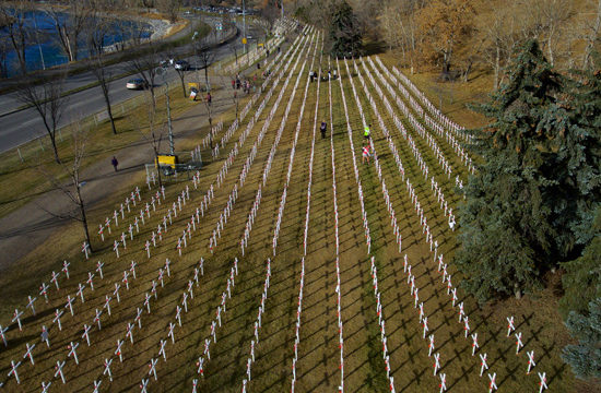 Exercise Freedom Together, supporting the Field of Crosses Charity