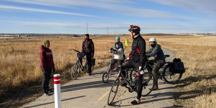 Infrastructure Ride with Councillor Dr. Jyoti Gondek