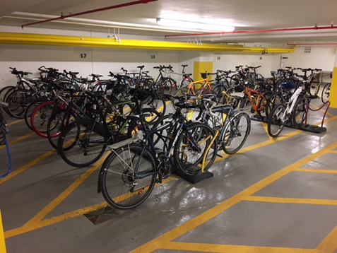 Parking Upgrades Promote Active Transportation