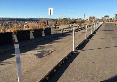 New bike lane installed on Crescent Road in northwest Calgary